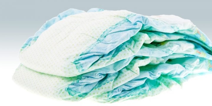 Over 300,000 disposable nappies processed!