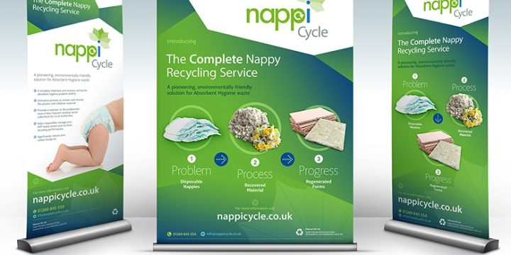 Landfill diversion for nappies